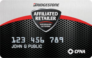 Bridgestone Credit Card