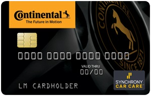 Continental Credit Card from Synchrony Car Care